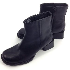 TIMBERLAND Smart Comfort System Black Leather Boot